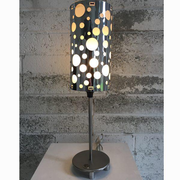 Switzer Cylindrical Steel Table Light-single light